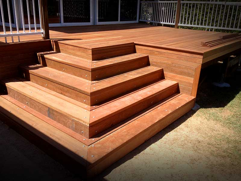 Brisbane North timber decks