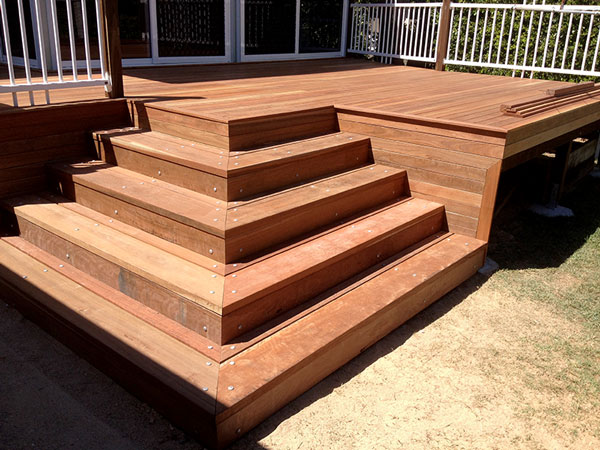 custom timber decks